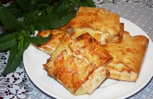 Ананас в лаваше (пошаговый фото рецепт)