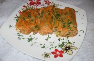 Лук порей, фаршированный рисом и мясным фаршем (пошаговый фото рецепт)