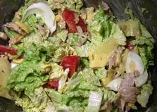 """Домашний салат """"Цезарь"""" (пошаговый фото рецепт)"""