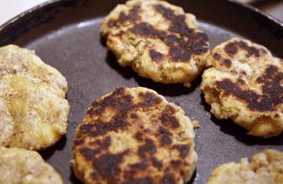Лепёшки с грецкими орехами (пошаговый фото рецепт)