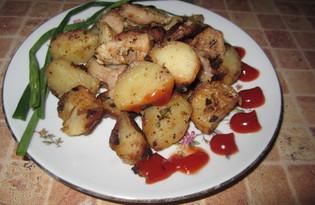 Жаркое с цветной капустой (пошаговый фото рецепт)