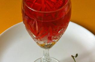Вишневая наливка на коньяке (пошаговый фото рецепт)