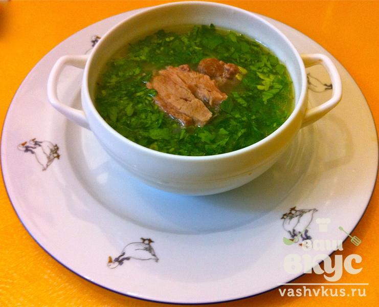 Суп с крупой рецепт с фото