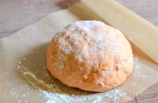 Тесто с томатной пастой (пошаговый фото рецепт)