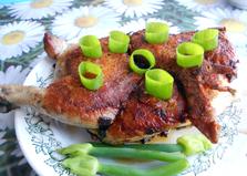 Курица под прессом (пошаговый фото рецепт)