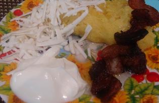 Мамалыга из кукурузной муки (пошаговый фото рецепт)