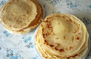 Блины на сливочном масле (пошаговый фото рецепт)