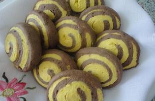 Печенье «Улитки» (пошаговый фото рецепт)