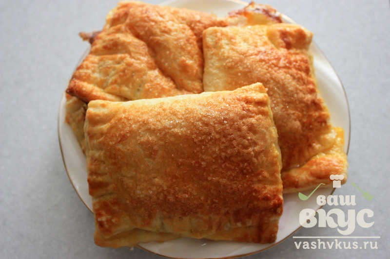 пирожки слоеные с вареньем рецепт с фото