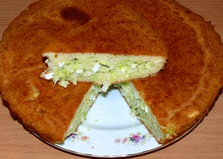Пирог без дрожжей с капустой и яйцом (пошаговый фото рецепт)
