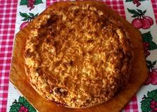 Песочный пирог со свежими ягодами (пошаговый фото рецепт)