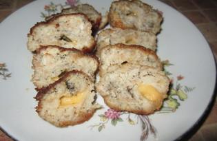 Куриные зразы с сыром (пошаговый фото рецепт)