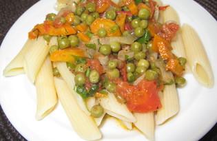 Подлива из овощей с горошком (пошаговый фото рецепт)