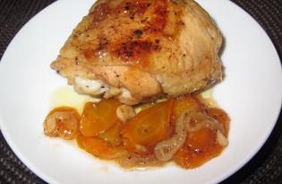Куриные бедра в кисло-сладком соусе (пошаговый фото рецепт)