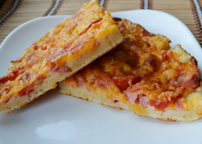 Тесто для домашней пиццы на кефире (пошаговый фото рецепт)