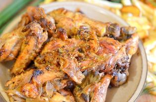 Курица в соевом маринаде (пошаговый фото рецепт)