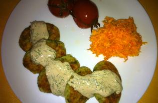 Картофельные котлеты с соусом (пошаговый фото рецепт)