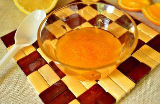 Апельсиново - лимонный джем (пошаговый фото рецепт)
