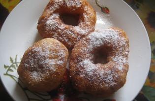 Творожные пончики во фритюре (пошаговый фото рецепт)