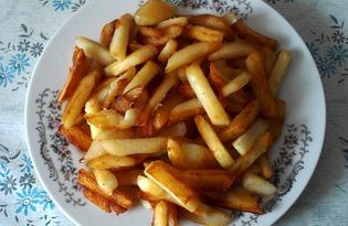 Вкусная жареная картошка (пошаговый фото рецепт)