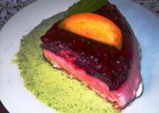 Десерт из малины и творога (пошаговый фото рецепт)