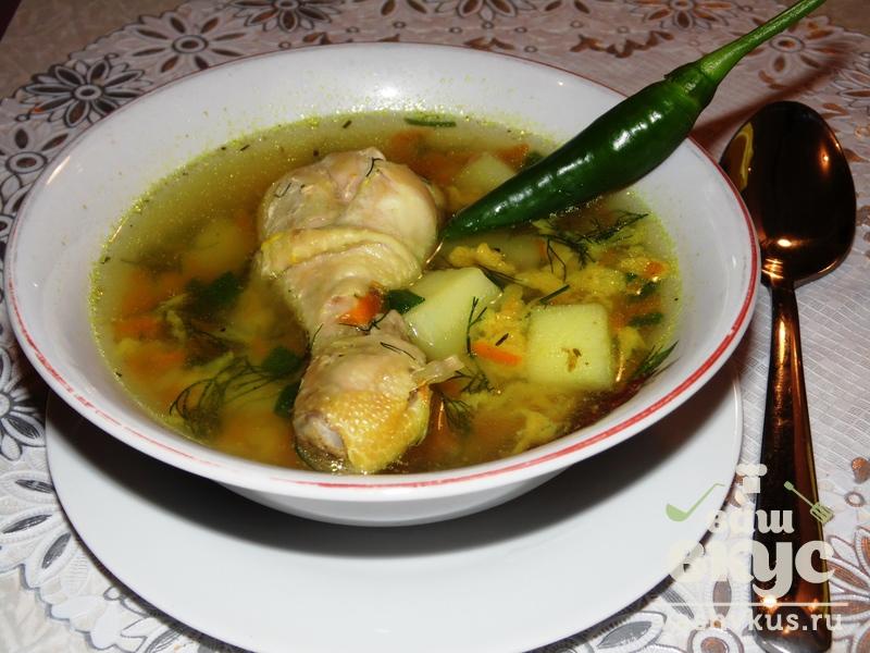 простой куриный суп в мультиварке рецепты с фото