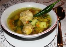Куриный суп с клецками в мультиварке (пошаговый фото рецепт)