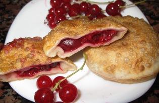 Сладкие пирожки - бомбочки со свежими ягодами (пошаговый фото рецепт)