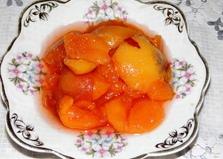 Персиковый джем (пошаговый фото рецепт)