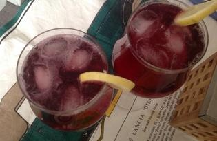 """Испанский коктейль """"Тинто верано"""" (пошаговый фото рецепт)"""