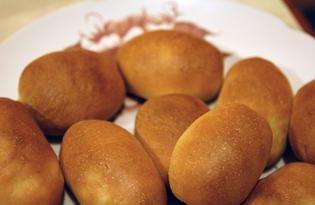 Пирожки с курицей и рисом (пошаговый фото рецепт)