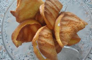 Печенье на белках с предсказаниями (пошаговый фото рецепт)