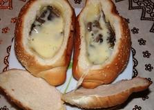Жульен в булочках (пошаговый фото рецепт)