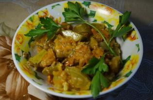 Салат из кабачков на зиму (пошаговый фото рецепт)