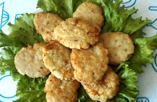 Вкусные котлеты из минтая  (пошаговый фото рецепт)