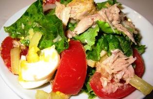 Прованский салат с тунцом (пошаговый фото рецепт)