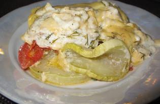 Гратен из кабачков (пошаговый фото рецепт)