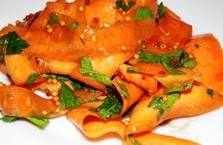 Закуска из моркови (пошаговый фото рецепт)