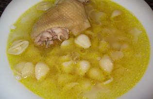 Бульон из домашней курицы (пошаговый фото рецепт)