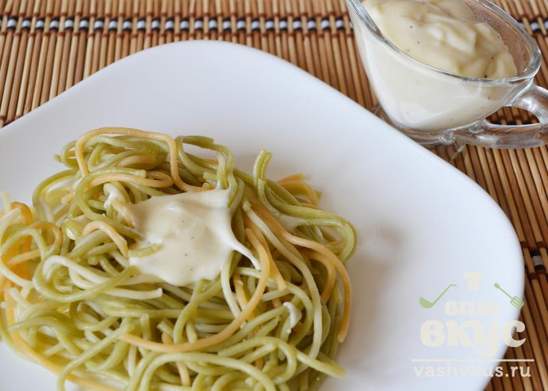 Спагетти с соусом бешамель рецепт с пошагово