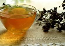 Медовый чай с душицей (пошаговый фото рецепт)