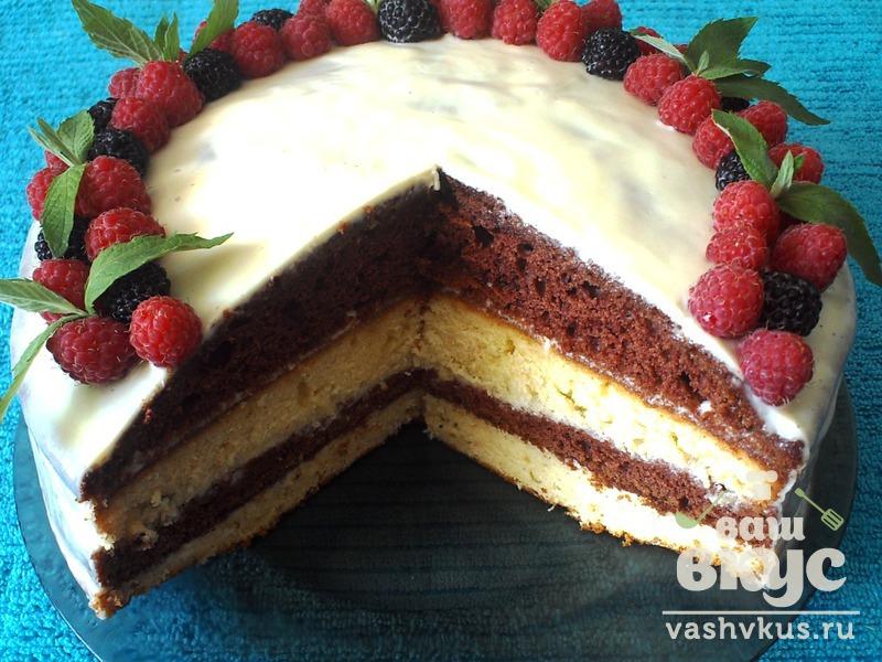 Рецепт торта со сметанным кремом
