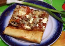 Вегетарианская пицца (пошаговый фото рецепт)