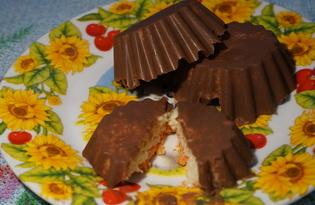 Домашний баунти (пошаговый фото рецепт)