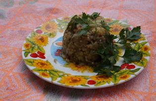 Салат из печеных баклажанов (пошаговый фото рецепт)