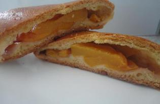 Пирожки с персиком (пошаговый фото рецепт)
