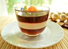 """Кофейный десерт """"Полосатый"""" (пошаговый фото рецепт)"""