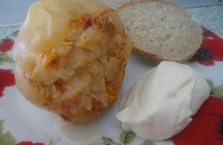 Классический фаршированный перец (пошаговый фото рецепт)
