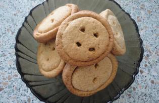 Печенье «Пуговица» (пошаговый фото рецепт)