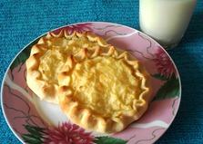 Картофельные шаньги из пресного теста (пошаговый фото рецепт)